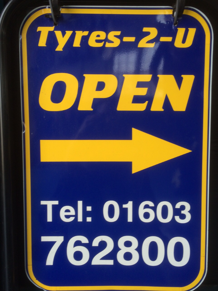 Tyres 2 U - Open for your tyre and battery needs!