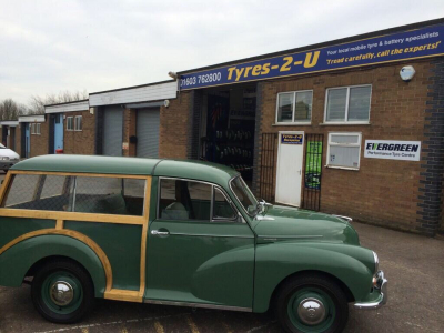 Tyres of all sizes.