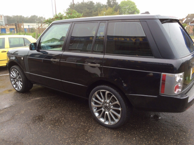 Tyres for Range Rovers