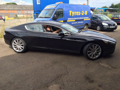 Even large diameter tyres.